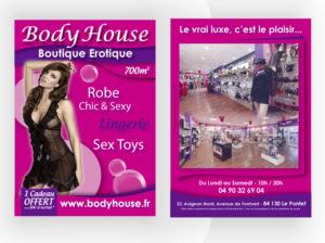 Flyer Avignon Body house