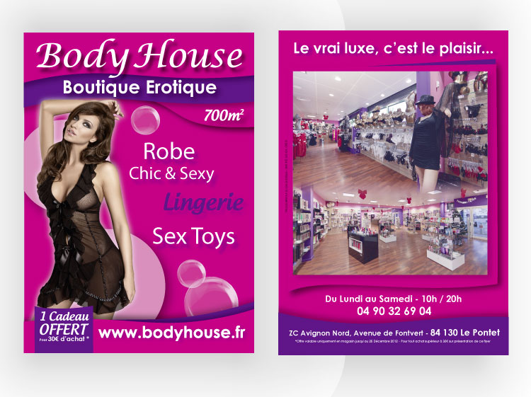 Flyer Avignon Body house