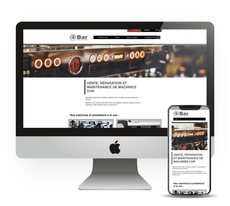 Site responsive pro - 9bar