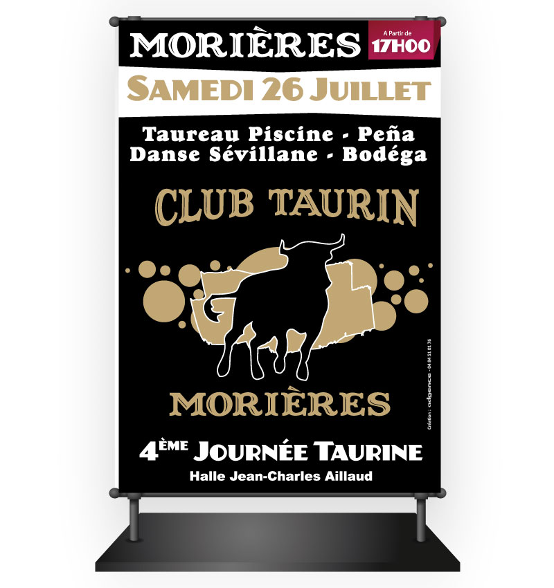 Abribus club taurin