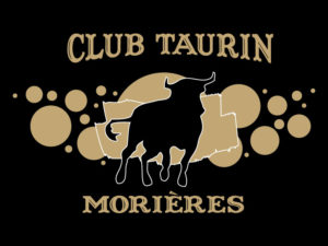Logo simple club taurin Morières