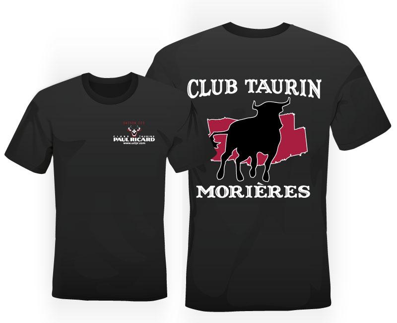 Tshirt club taurin