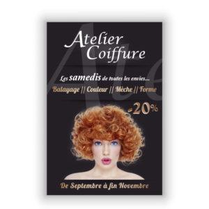 Flyer Atelier Coiffure