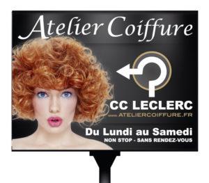 Panneau 4x3 annuel Atelier Coiffure