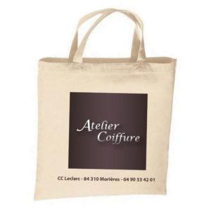 Sac goodies personnalisé Atelier Coiffure