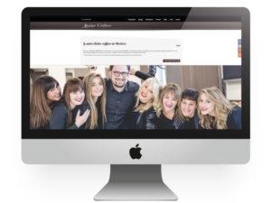 Site internet Atelier coiffure