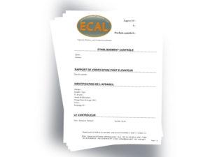 Formulaire Gestion en pdf Ecal