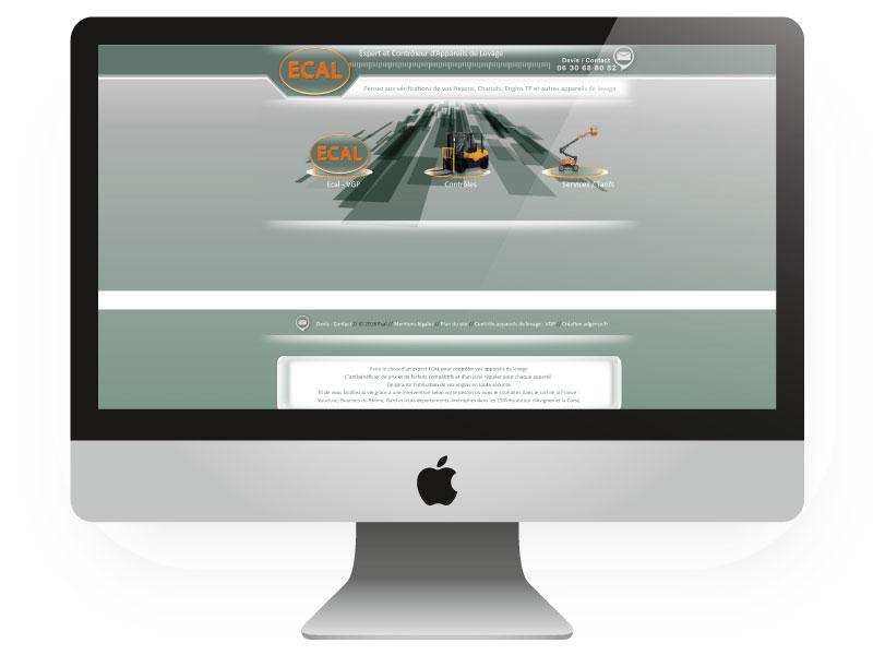 Site internet Ecal