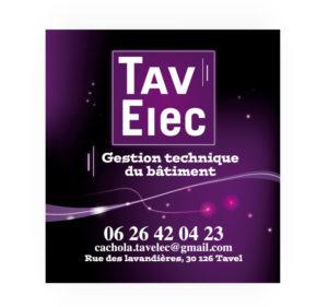 Sticker électricité Tav Elec