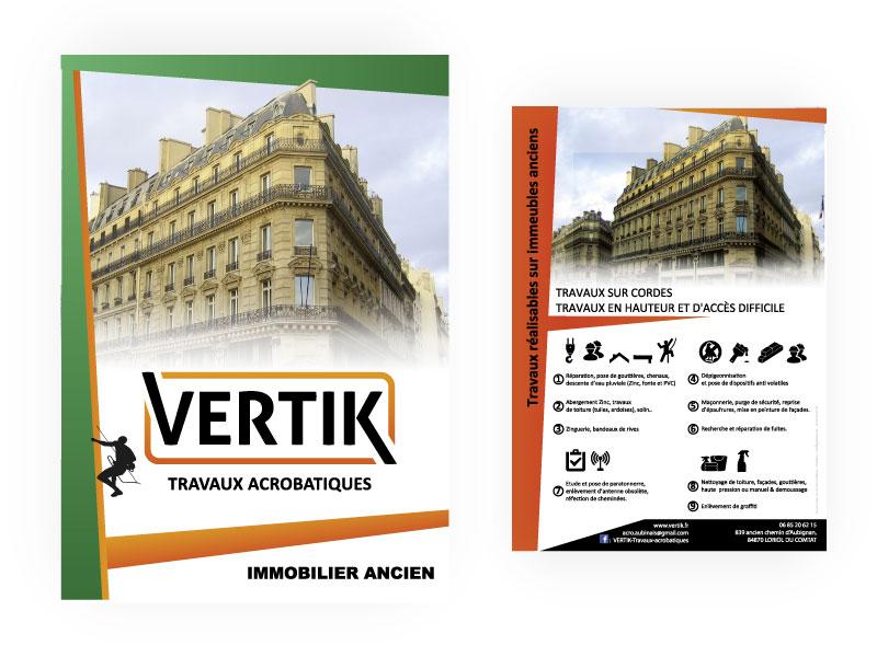 Flyer promotionnel Vertik