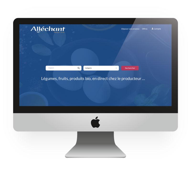 Site internet Alléchant
