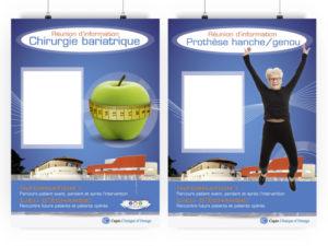 Affiche clinique Obésité traitement