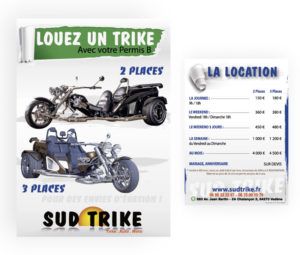 Flyer location Sud Trike