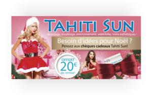 Flyer Noël Tahiti Sun