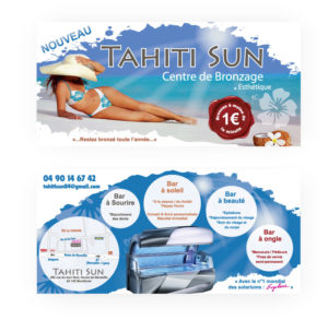 Flyer ouverture Tahiti Sun