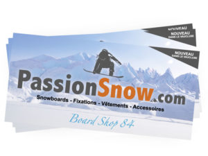 Flyer Passion Snow