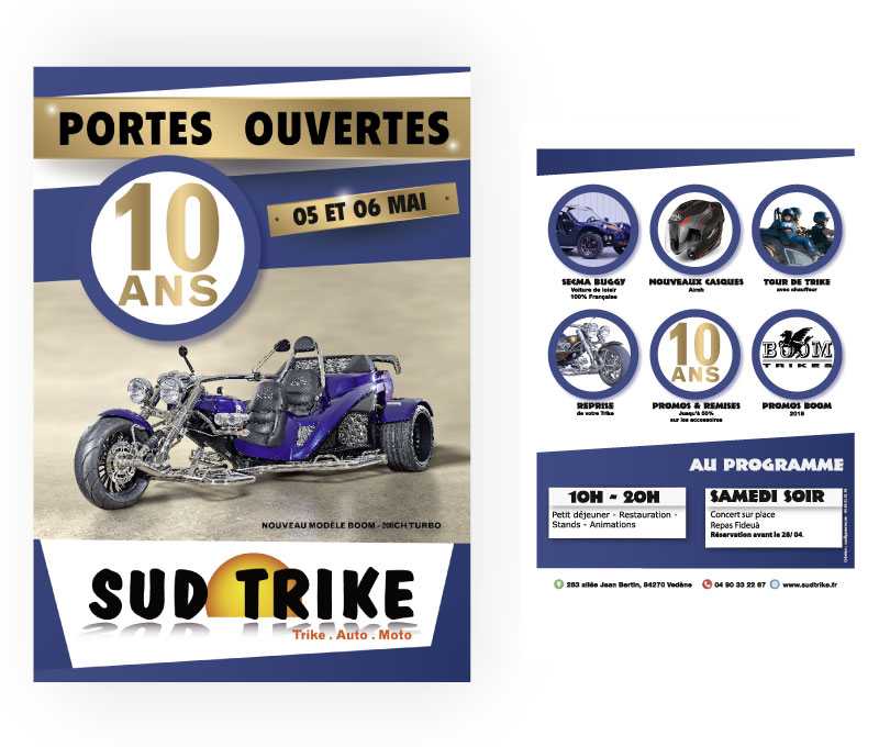 Flyer porte ouverte Sud Trike
