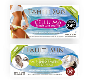 Flyer prestation Tahiti Sun