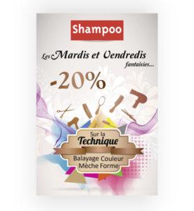 Flyer Shampoo