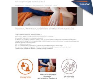 Formation web pour masseur Alain Granger