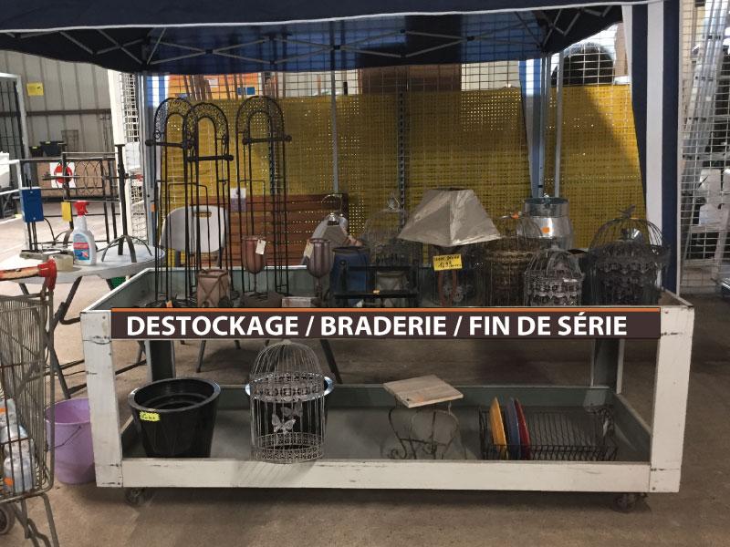 Habillage promo Maison du fer Brocante indus
