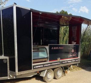 Habillage véhicule foodtruck