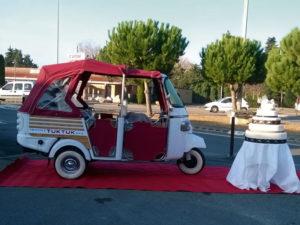 Habillage de véhicule promotionnel Provence TukTuk Tour