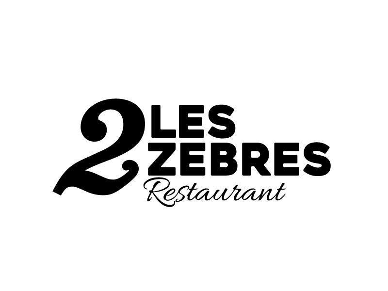 Logo restaurant les 2 Zèbres