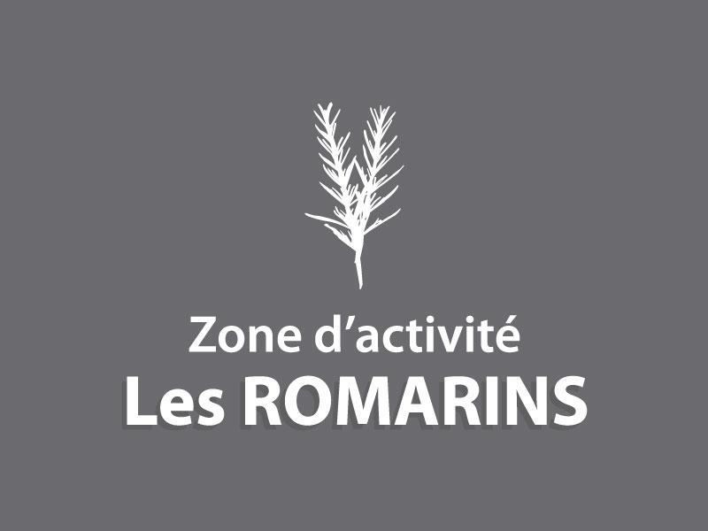 Logo Les Romarins