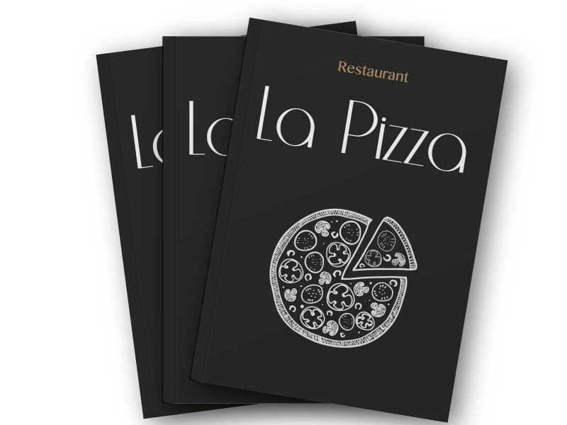 Menu restaurant La Pizza