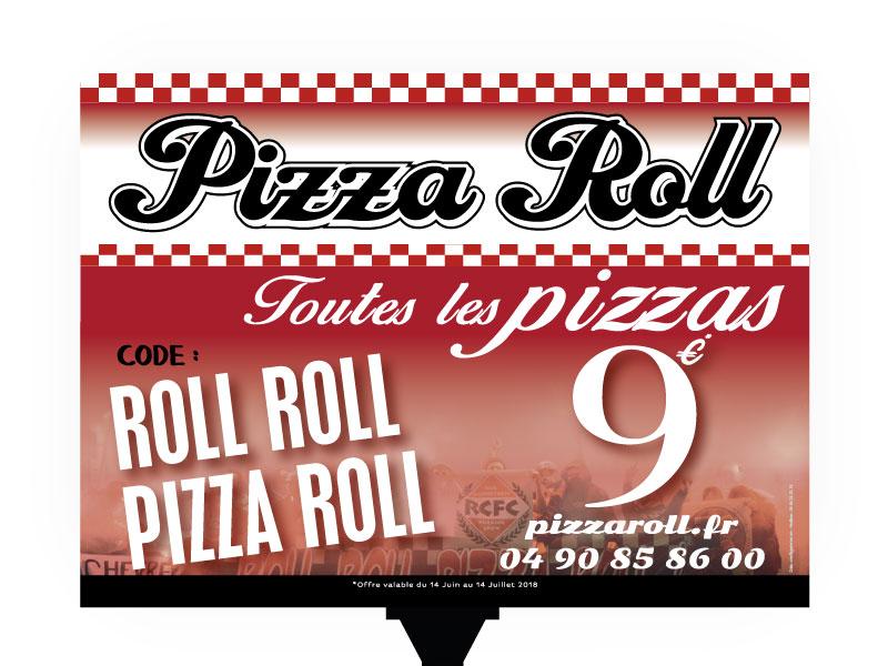 Panneau 4X3 Pizza Roll