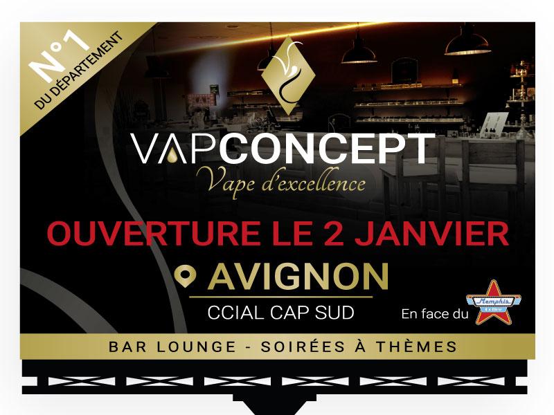 Panneau 4X3 Vap Concept