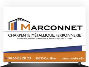 Panneau charpente métallique Marconnet