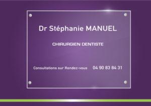 Plaque cabinet médical Morières