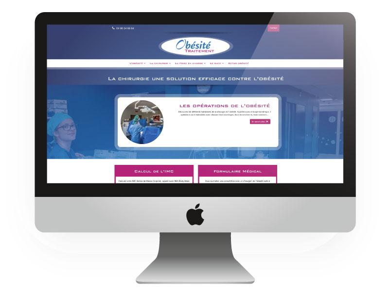 Site internet Obésité traitement