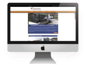 Site internet responsive Marconnet