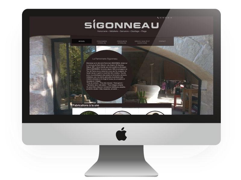 Site internet responsive Sigonneau