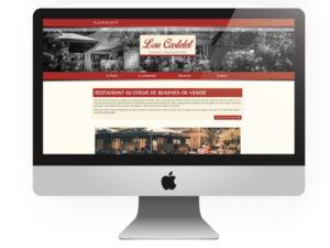 Site internet Lou castelet Beaumes de Venise