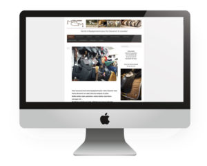 Site Internet Sellerie MCM