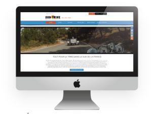 Site internet Sud Trike