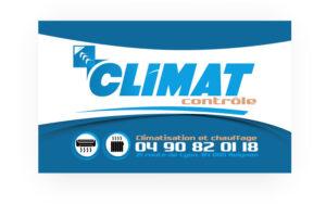 Stickers entreprise Climat Contrôle