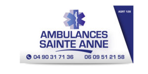 Panneau dibond ambulance
