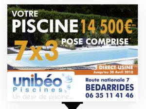 Panneau 4x3 Unibéo