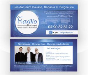 Flyer ouverture Maxilo Capio Fontvert