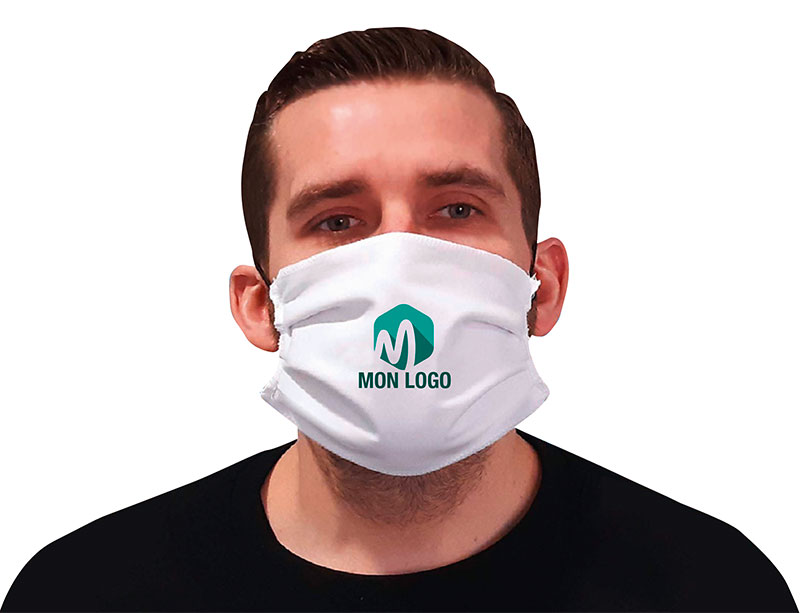 Masque personnalisable Covid19
