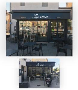 Enseigne restaurant - La Casa